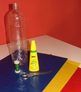 Material Laterne Plastikflasche