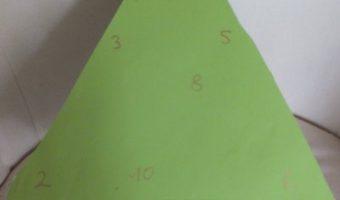 Adventskalender aus Papprollen
