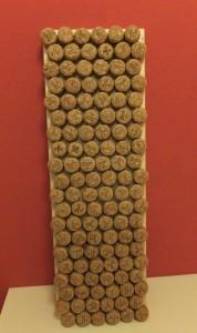 Basteln mit Korken - ein Pinnbrett