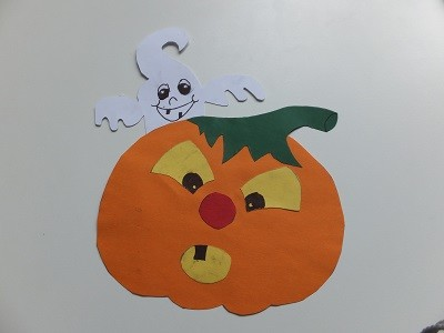 "Halloween Fensterbild <br /><span class=""second""> Dekoration</span>"