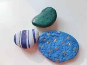 bemalte Steine - Briefbeschwerer