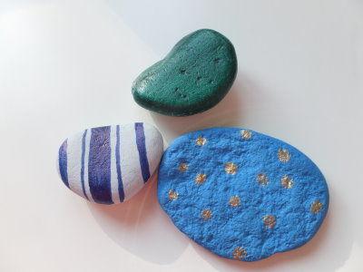 Briefbeschwerer aus Steinen