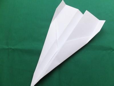Flugzeug falten