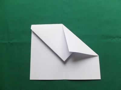 Bauanleitung Papierflugzeug