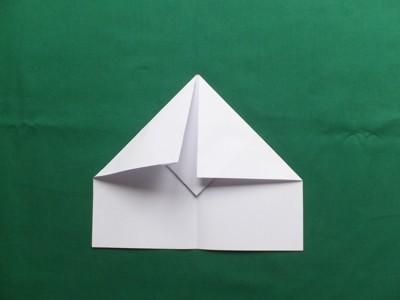 aus Papier falten wir ein Flugzeug