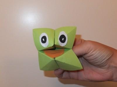 Origami für Kinder: Orakel schnell gefaltet