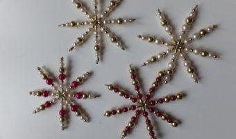 Perlenstern basteln