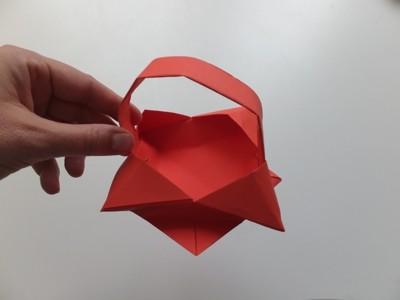 Korb aus Papier