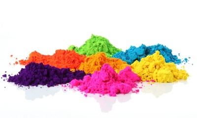 Brausepulver - Salzteig färben