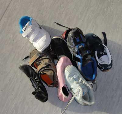 Schuhrätsel