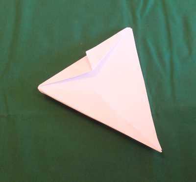Alpha Jet Papierflugzeug