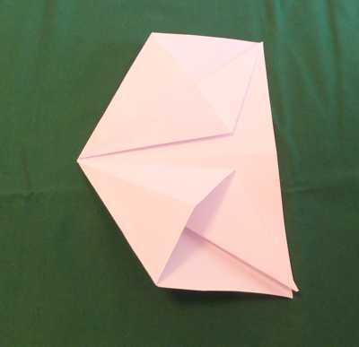 Papierflugzeuge falten: Alpha Jet 9