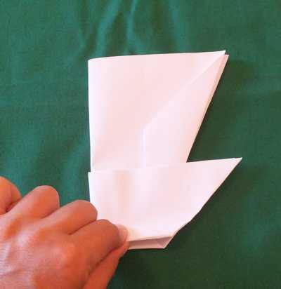 Papierflugzeug Looping
