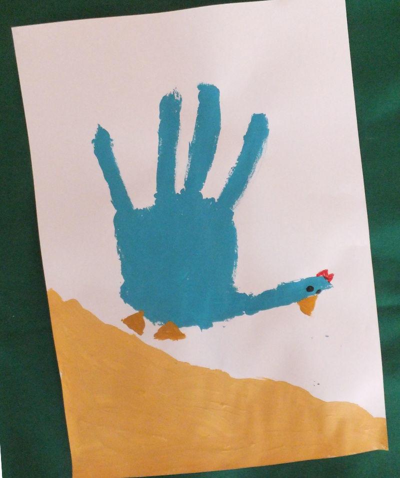 Bilder selbst gestalten mit strukturpaste for Raumgestaltung mit kindern