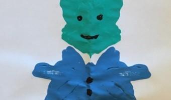 """Farbklecks Figur  <br /><span class=""""second""""> Monster malen</span>"""