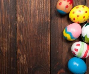Färben von Ostereiern