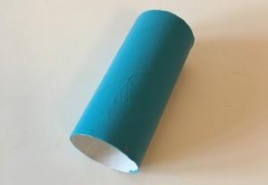 Bastelidee mit Papprollen