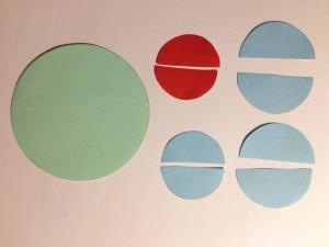 Basteln mit Kreisen
