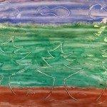Kleistermalerei – Bilder mit Tapetenkleister gestalten</span>