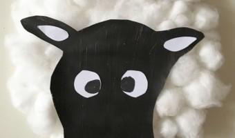 Tiere aus Papptellern basteln