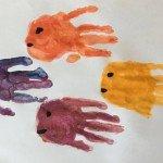 Fische mit der Hand stempeln</span>