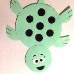 Schildkröte – basteln mit basteln mit Papierkreise</span>