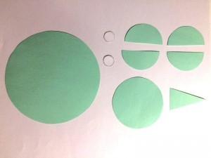 basteln mit Papierkreise