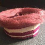 Weben: Korb aus einem Pappteller</span>