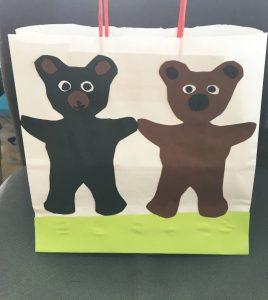 Geschenktüte Bär