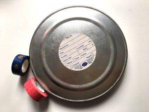 upcycling filmdosen material