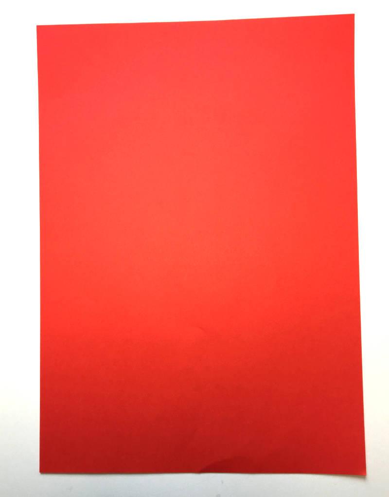 DIN A 4 Papier rot