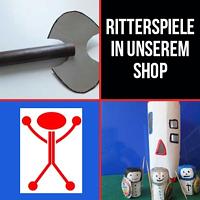 Werbung Shop Ritterspiele