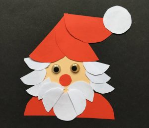 Weihnachtskarte selbst gemacht