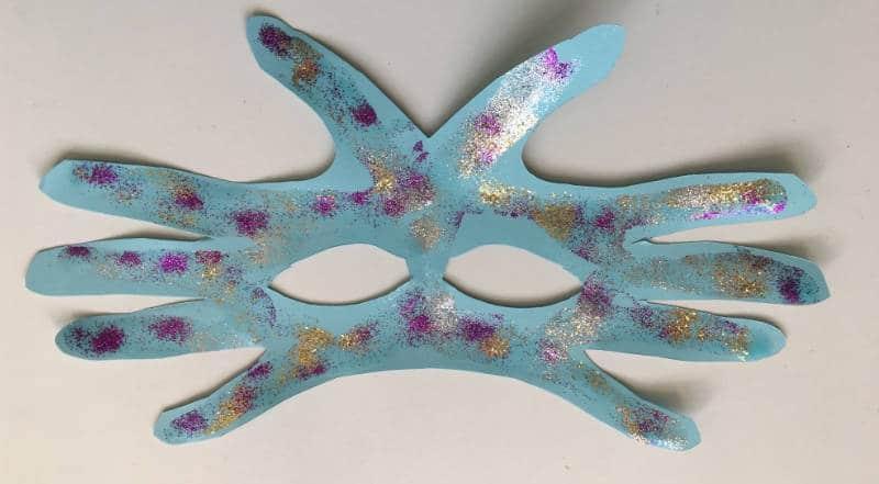 Faschingsmaske - einfach basteln