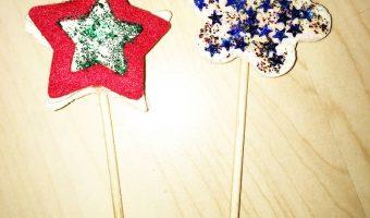 Weihnachtsdekoration aus Salzteig