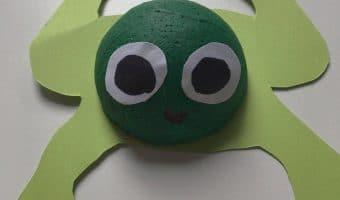 Frosch basteln